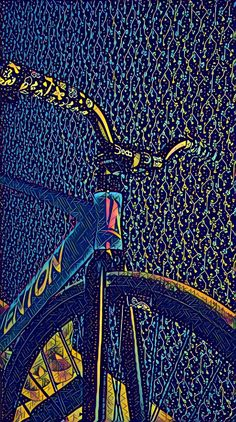 Out of the ordinary Bicycle Rims, Bicycle Art, Cycling Art, Cycling Bikes, Road Cycling, Natur Wallpaper, Montain Bike, Bicycle Illustration, Bicycle Painting