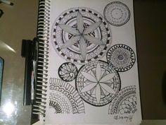 Mandala. Art work. Leisure. Learning  patience. Mumbai. India