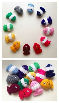 Fish Candy Free Crochet Pattern
