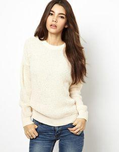 Daisy Street Fisherman's Sweater