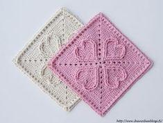 Crochet Squares, Crochet Granny, Baby Blanket Crochet, Crochet Motif, Crochet Stitches, Crochet Baby, Knit Crochet, Crochet Patterns, Granny Square Tutorial