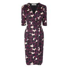 Eos Floral Print Jersey Dress