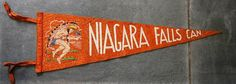 Check out this item in my Etsy shop https://www.etsy.com/uk/listing/527945704/niagara-falls-vintage-travel-pennant-a