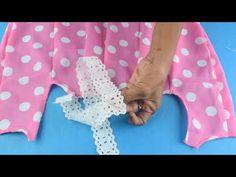 Lindo Vestido para las consentidas de la casa Paso a paso♥ - YouTube