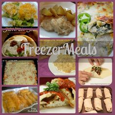I love this idea and will be trying it soon! Easy Freezer Meals