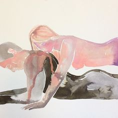Make Love: las acuarelas eróticas de Tina Maria Elena - Cultura Inquieta Sexy Cartoons, Art Amour, Make Love, Psy Art, Love Illustration, Couple Drawings, Art Graphique, Couple Art, Illustrations