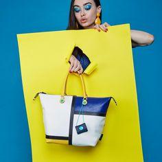 Break up the monotony.   #girlslovebluebotton #gabs #gabskorea #gabsginza #gabsofficial #gabsborseeaccessori #gabsborse #bagshop #accessories #bag #bags #Italian #Fashion #design #creative #style #styles #stylish #Colore #Colori #Colors #Colours #Smile #Fun #Happyness #bepositive #positivevibe #funny #ironic