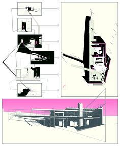 "usfsacd: "" Christopher Weaver, USF School of Architecture + Community Design, Class of 2016 ""Anexo de Casa Kalif"", Latin American Architecture: Prof. Josue Robles, Fall 2014 Design for a small..."