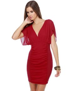 Perfect red dress for...just about anything!!!