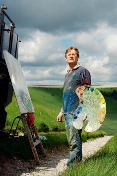 Oliver Akers Douglas landscape painter   Artists Studios (houseandgarden.co.uk)