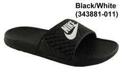 Nike Benassi JDI Swoosh Womens Ladies Slides Slipons Sandals on ...
