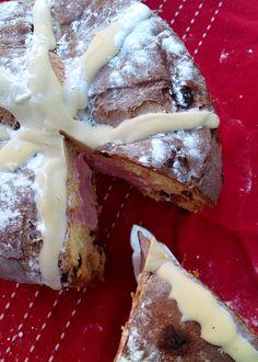 PipFoods :: Panettone gevuld met aardbeienijs