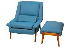 1960s Swedish  Lounge Chair