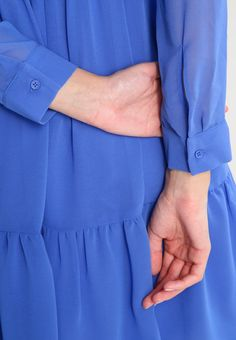 Carolina Cavour Vestido camisero - blue - Zalando.es