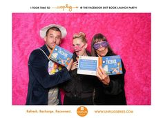 Guests had fun at The Unplug Series launch party for The Facebook Diet!