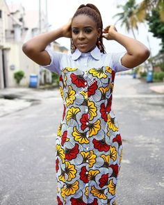 Penjo Baba Cameroon's celebrity photographer and owner of Penjo Studios shares stunning photos of actress Lucie Memba in Ankara print dress African Print Skirt, African Print Clothing, African Print Dresses, African Print Fashion, African Prints, Fashion Prints, African Wear, Ankara Styles For Kids, Trendy Ankara Styles