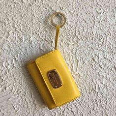 Mk yellow wallet. Authentic. Normal sign of used. Michael Kors Bags Wallets