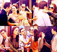 Awwww....Ed and Leighton are so cute! I love seeing pictures of them behind the scenes.