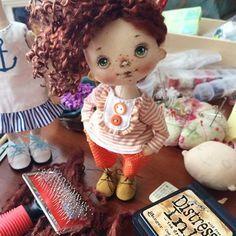 Ну очень деловая! #рукивбрюки #процессы #куклысахаровойнатальи