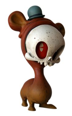 """4-Legged Bear Skelve"" 
