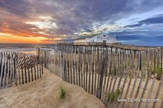 Sunrise Sandfence and Pier | OBX Connection Message Board