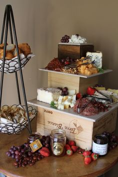 Charcouterie Display | Twelve Baskets Catering