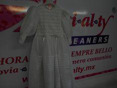 Vestido de Primera Comunión, de Mamá a Hija.