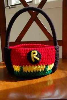 Crochet Pattern Robin Hero Superhero.Halloween crochet  #halloween #crochet ww.loveitsomuch.com
