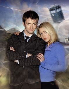 David Tennant and Bille Piper