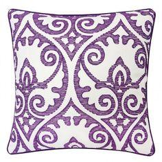Jorja Pillow (Purple) (Set of 2)