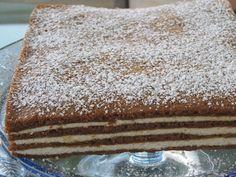 Seven Layer Honey Sheet Cake – Recipe Sheet Cake Pan, Sheet Cake Recipes, Ukrainian Recipes, Ukrainian Food, Romanian Desserts, Creamed Honey, Honey Cake, No Bake Desserts, Eat Cake