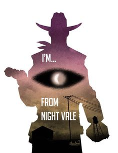 The Thrilling Adventure Hour/Welcome to NIght Vale crossover fanart.