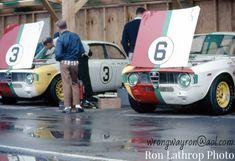 Horst Kwech & Monty Winkler, Alfa Romeo Giulia Sprint GTA at 1967 Bryar Trans-Am