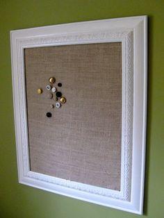 Memo Board · Burlap Cork BoardsFramed ...