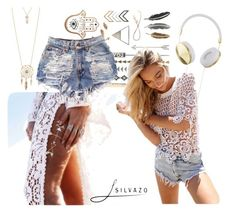 """""""Silvazo.com ;)"""" by clothingoutfitideas ❤ liked on Polyvore featuring Frends and Aéropostale"""