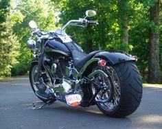fatboy custom wheels | Wide Tire Kit for FatBoy - Harley Davidson Forums