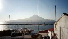 Pico visto do Faial, Açores, Portugal.