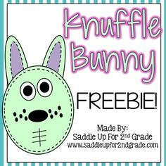 Knuffle Bunny by Mo Willems is on of my favorite stories. This flip book is for practicing sorting syllables words from the story. If you like this freebie, check out the full unit for the entire series: Knuffle Bunny: A Mini Unit Over the 3 Books