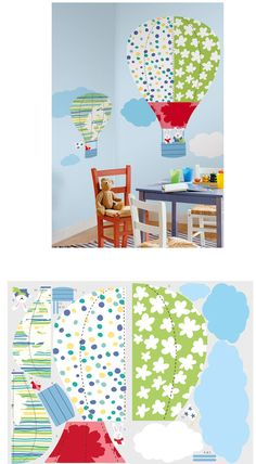 Hot Air Balloons MegaPack - Wall Sticker Outlet