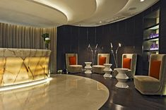ESPA Ritz-Carlton Hong Kong by Hirsch Bedner Associates, Highest Spa in The World