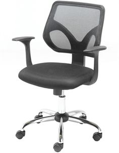Best Office Chair After Spinal Fusion Steel On Wall 40 Ergonomic Chairs Images Lara Mesh Is A Breathable Back Available In Blue Or Black Fixed Armrests Give Support Along With Deep Padded