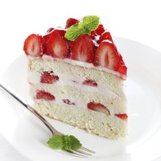 Delicious Strawberry Filling Recipes for Cakes With Some Fun Facts Strawberry Desserts, Köstliche Desserts, Summer Desserts, Delicious Desserts, Yummy Food, Strawberry Filling For Cake, Food Cakes, Cupcake Cakes, Cake Recipes