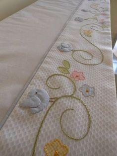 Jogo de lençol para berço | Katze Patchwork | Elo7