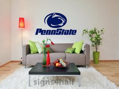 Penn State Nittany Lions Removable Wall Art Decor by Signs4Half, $20.00