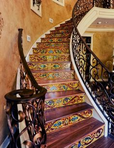 Attractive patterned railing