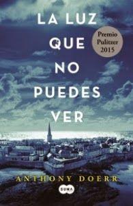 Libros más vendidos: La luz que no puedes ver - Anthony Doerr (Ed. Suma...