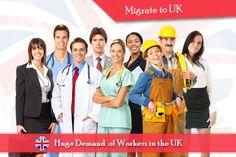 Huge Demand of Skilled Workers in UK