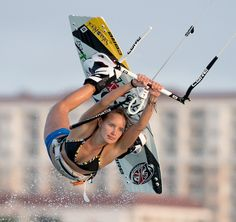 Annabel Van Westerop by Tony Filson of KissMyKite on Behance Beach Tennis, Place To Shoot, Outdoor Shoot, Windsurfing, Kids Sports, Athlete, Behance, Van, Actresses