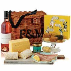The West Country Hamper from Fortnum & Mason available through the Wedding Heart website http://www.weddingheart.co.uk/fortnum-and-mason---hampers.html