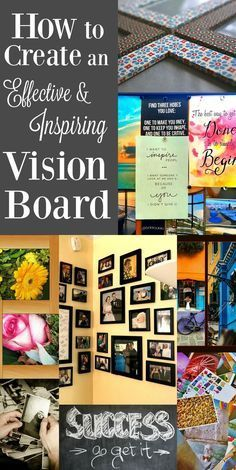 What if you could look at a picture of your dream life and in an instant it became your reality? That's exactly what a vision board can do! Here are some tips to make a truly effective and inspiring vision board that will be sure to change your life.